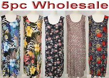 5pc Wholesale Bulk Lots Women Ladies Dress Stretch Clothing Free Size Mixed
