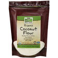 NOW Foods Coconut Flour, Organic, 16 oz.