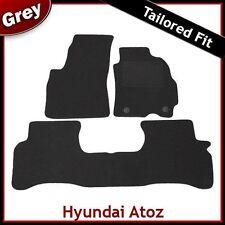 Hyundai Atoz (1998 1999 2000 2001) Tailored Fitted Carpet Car Mats GREY