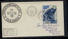 French  Antarctic   Iles de  Kerguelen   C47  on  cover  1980         KEL0915