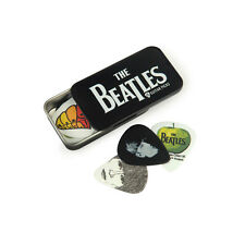 Planet Waves Beatles Signature Guitar Pick Tins, Logo, 15 Medium