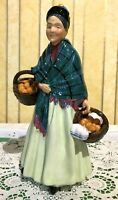 ROYAL DOULTON  FIGURE THE ORANGE LADY HN 1953 LARGE OLDER MODEL PERFECT