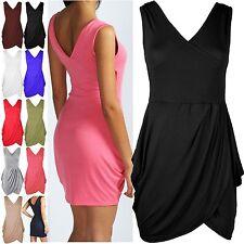 Unbranded V Neck Tunic Dresses for Women