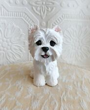 New ListingWest Highland White Terrier Resin FureverClay Collectible FureverClay
