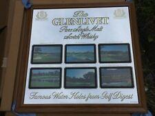 "New listing The Glenlivet Scotch Golf Course Sign Mirror Bar PubPebble Beach 24"" B"
