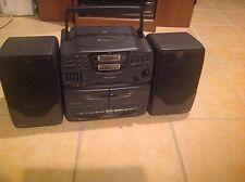 CRAIG JD8645 CD / Dual Cassette Deck / Radio Boombox