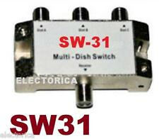 MULTI-SWITCH SW31 SATELLITE SW-31 DISH NETWORK SW21-3 HD 110 119 129 SW21X SW-31