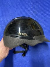 Troxel Riding Helmet used kids Small lightly worn black