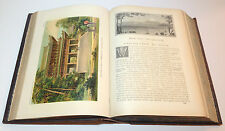 Ridpath's History of the World Races of Mankind Color-Plates Etchings Print 1897