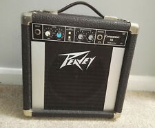 Vintage Peavey Companion 15 Busking Battery Amp Electric Guitar Tested