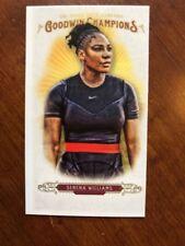 2018 UD Goodwin Champions Mini #10 Serena Williams