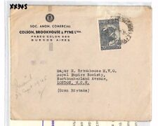 XX345 1945 ARGENTINA Buenos Aires GB London Contents Royal Empire Society