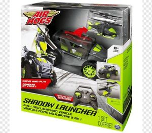 Air Hogs Drive And Fly Shadow Launcher Remote Control. Jeep & Chopper