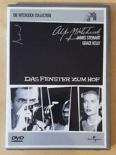 Das Fenster zum Hof [DVD] Alferd Hitchcock, James Stewart, Grace Kelly