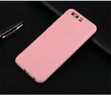 For Huawei P10/P10 Plus Luxury TPU Silicone Ultra Thin Frosted Back Cover Case