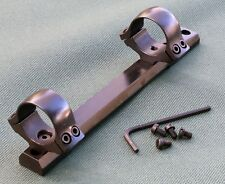 Remington 700, rifle scope mounts,Long Action 1 inch rings, 1 piece base, STEEL.
