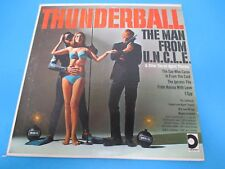 Thunderball The Man From U.N.C.L.E Other Secret Agents LP Vinyl Design Records