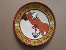 Commander Task Force 158 Military Cloth Patch Badge (L3K)