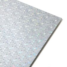A4 Card Holographic Card - Stars Pattern 250GSM - 5 Sheets  DEAL OFFER SALE