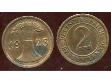 ALLEMAGNE 2  rentenpfennig  1923 A