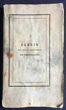 Bottini SUL MOTO ROTATORIO DEL MEDITERRANEO Genova Ferrando 1834