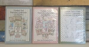 Tumble Ted Pastimes Collection CD Roms 1, 2 & 3 - Crafting Media
