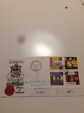 Antigua Stamps 1969 FDC Anniversary Of Parliament