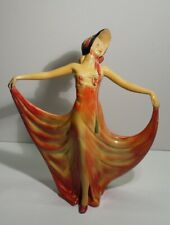 "Vintage Art Deco Wade Figurine Entitled ""Pavlova""."