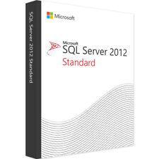 Microsoft SQL Server 2012 Standard Licence Key - Fast Delivery