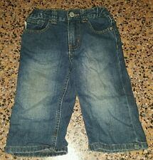 BOYS Sz 1 blue denim TARGET jeans COOL! ELASTIC & ADJUSTABLE WAIST! CUTE!