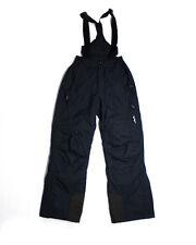Alpine Black Winter Sports/ Ski/ Snow Pants & Suspenders SIZE XS