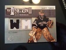 2009-10 UD SPX Winning Materials #WM-MT Marty Turco Dallas Stars