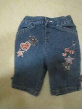 Little Legends 12 mo Jeans Stars Hearts Cherries