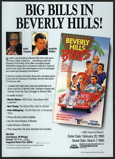 BEVERLY HILLS BRATS__Orig. 1990 Trade AD movie promo__MARTIN SHEEN__TERRY MOORE
