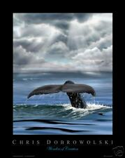 "NEW! Whale Fluke16x20"" Art Print Poster by Dobrowolski"