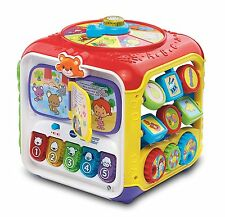 Sort & Discover Activity Cube VTech Developmental Baby Toy Songs Melodies New