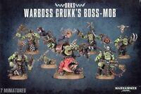 Warboss Grukk's Boss-Mob Ork Warhammer 40K NIB Flipside