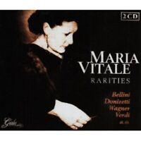 MARIA VITALE - RARITIES (VARIOUS COMPOSERS) 2 CD NEW