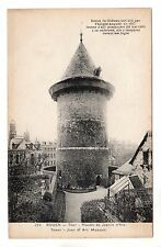 Joan of Arc Museum Tower - Rouen Photo Postcard c1908
