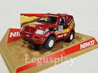 """SCX Scalextric Slot Ninco 50305 Mitsubishi Pajero  """"Jutta"""" Nº205"""