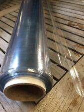 Nappe CRISTAL PVC toile ciree épais 10/100e transparent au metre largeur 140 cm