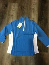 Cutter & Buck Ladies 3/4 Sleeve Pullover - Carolina Blue - Women's Medium - New