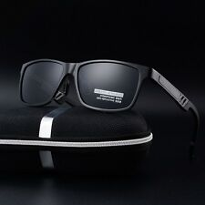 Aluminium HD Polarized Sunglasses Men Driving Fishing Mirrored Fashion Eyewear