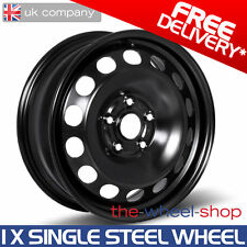 "15"" Skoda Fabia 2007 - 2014 Full Size Spare Steel Wheel - Free Delivery"