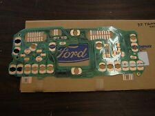 NOS OEM Ford 1992 Taurus SHO Dash Gauge Printed Circuit Wiring