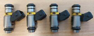 4x 630cc 560cc 490cc SUZUKI GSXR600 GSXR750 GSXR1000 Pico Yellow Fuel Injectors