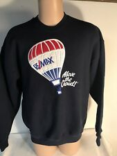 Vintage ReMax Advantage Real Estate Agent Sweater Men's Large Front Stain