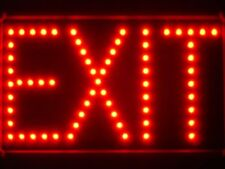 led023-r EXIT Red LED Neon Light Sign