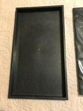 Jewelry Display Tray Plasticstackablewith Black Velvet Insert Padtrayampinsert