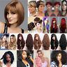Populaire 99 Couleurs Cosplay Perruque Longue Droite Raide Deguisement Femme Wig